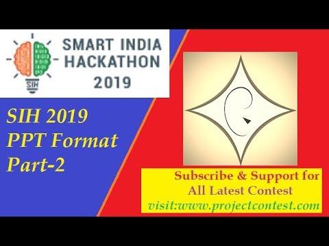 Smart India Hackathon 2019 - Problem Statements in PDF