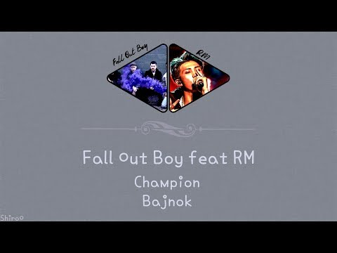 Fall Out Boy feat RM (BTS) - Champion (Remix) (Eng | Hunsub.) [SZÍNKÓDOLVA]