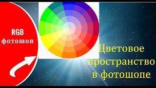 Цветовое пространство в фотошопе  RGB фотошоп