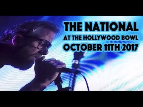 The National Live at The Hollywood Bowl [Full Show] [Oct 2017] [HD]
