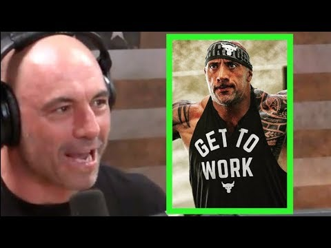 <div>Joe Rogan on The Rock's Workout Motivation</div>