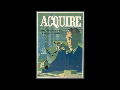 Ep  73: Acquire Board Game Review (3m Bookshelf 1964) )