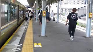 JR西日本 223系2000番台 新快速 播州赤穂行き 南草津駅 20180815
