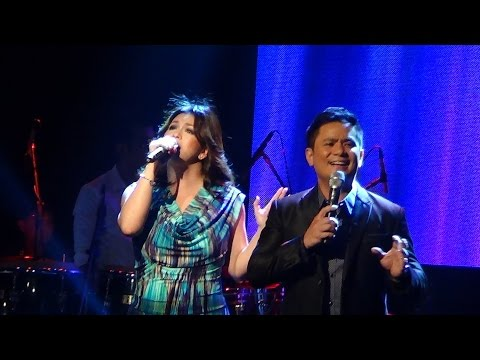 REGINE VELASQUEZ & OGIE ALCASID - The Lord Is Our Savior (All For One Beat Concert!)
