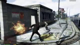 KRRISH DESTROYS MILITARY BASE! (GTA 5  Mods)