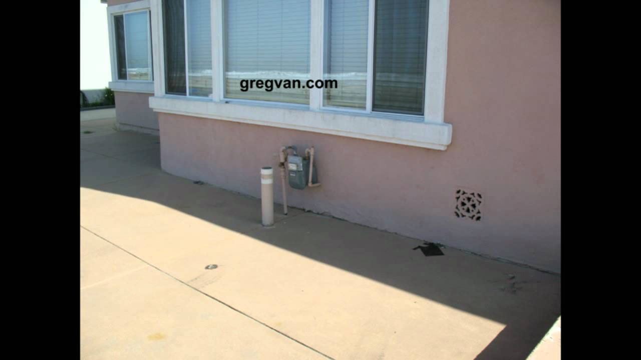 Driveway Pipe Protects Gas Meter Home Improvement Safety