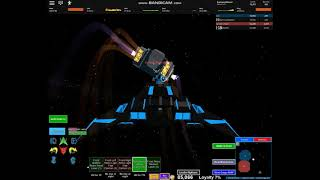 Roblox Galaxy retro Falcão vs imperator, Hallowlight, cônsul, disruptor e Hallow luz vs disruptor