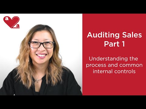 Auditing sales and revenue - part 1
