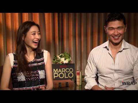 Netflix's 'Marco Polo' Stars Talk 'Marco Polo' the SwimmingPool Game