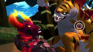 Invizimals: The Lost Kingdom - PS3 - Level 05 - Tigershark's Bayou (Blind, All Collectibles)