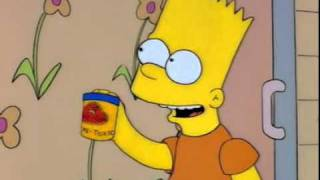 The Simpsons - Homer eats play doh