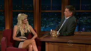 Late Late Show with Craig Ferguson 8/5/2010 Paris Hilton, Alex Dryden, Fred MacAulay