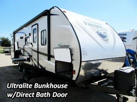 HaylettRV com - 2016 Coachmen Freedom Express 282BHDS Bunkhouse Travel  Trailer RV