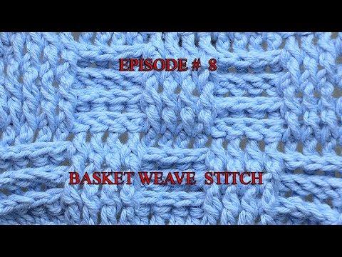 Stitch Gallery & Glossary Episode #8: Basket Weave Stitch