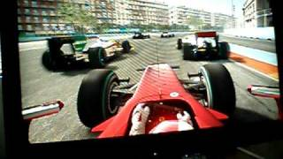 f1 2010 valencia first lap expert difficulty gameplay