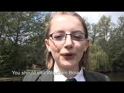 Broadland High School - Broads Project (German)
