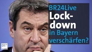 Das bayerische kabinett befasst sich heute in einer sondersitzung mit den corona-maßnahmen, deren verschärfung von bund und ländern beschlossen wurde.die pre...