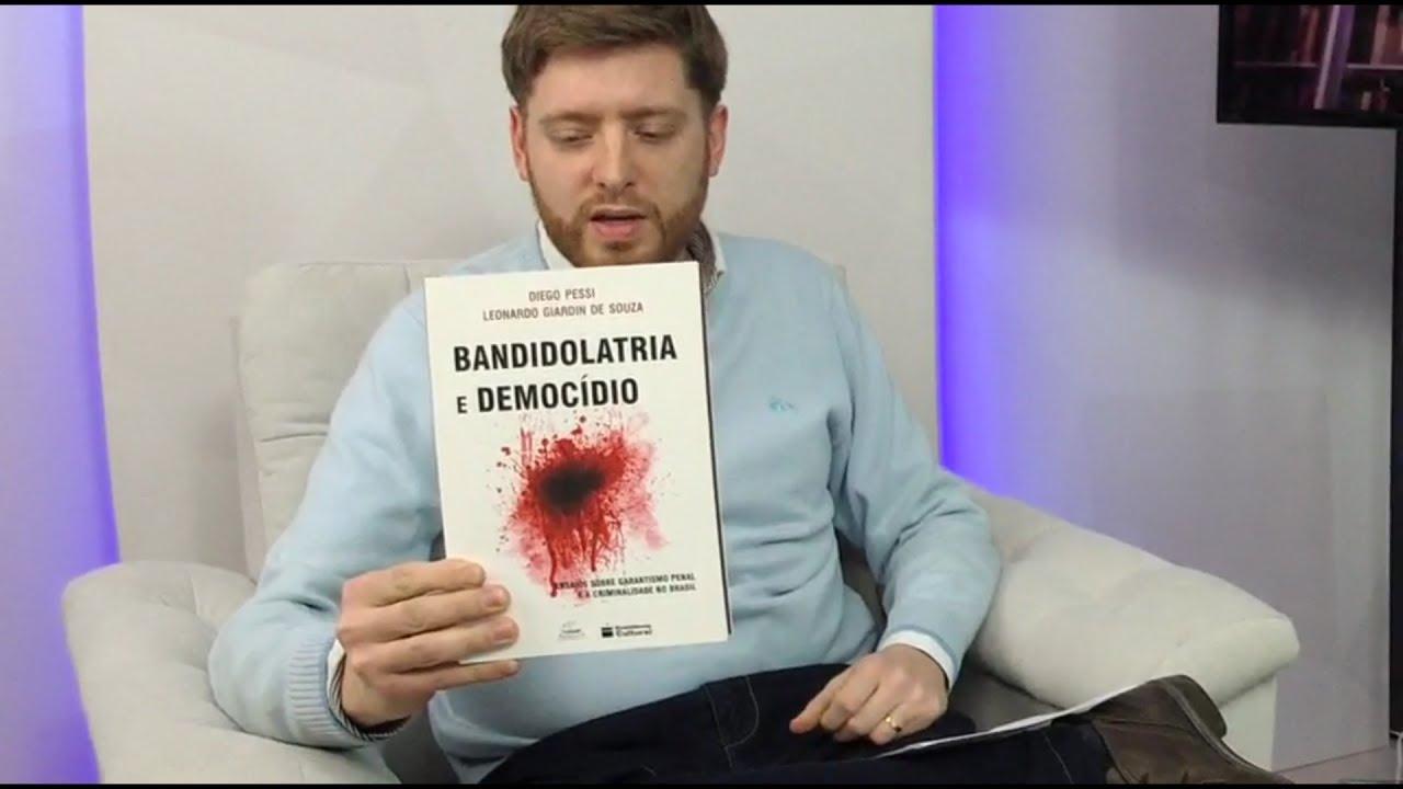 Entrevista Diego Pessi - Segurança Pública - 23/05  pt 01 - Bandidolatria e Democídio