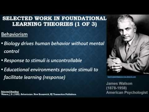 Learning Theories and Instructional Design webinar