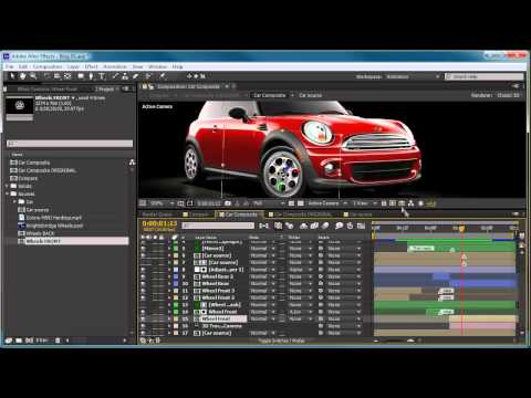 After Effects Tutorial: 3d Camera Tracker & Roto Brush