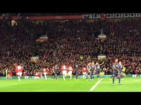 Robin van persie hat trick free kick vs olympiacos 3-0 old Trafford 19/3/2014