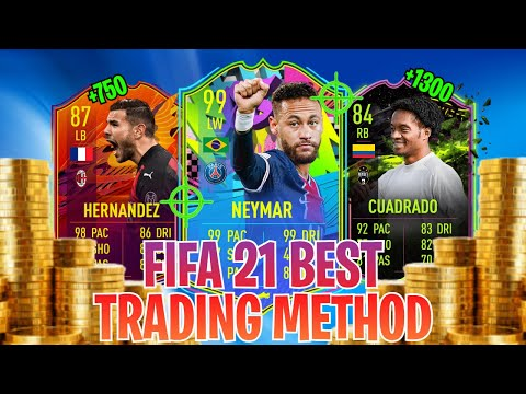 HOW TO MAKE 100K COINS RIGHT NOW ON FIFA 21!  EASIEST WAY TO MAKE COINS ON FIFA 21! BEST TRADING WAY