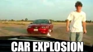 Car explodes right next to guy (vfx) Thumbnail