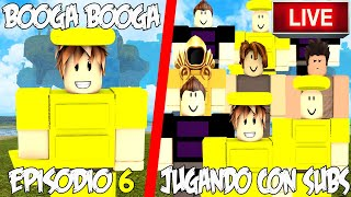 PLAYING WITH SUBS ? A NOOB IN BOOGA BOOGA EPISODE 6 ROBLOX ENGLISH