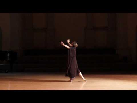 Isadora Duncan's CROSSING c.1923 performed by Catherine Gallant of Dances by Isadora