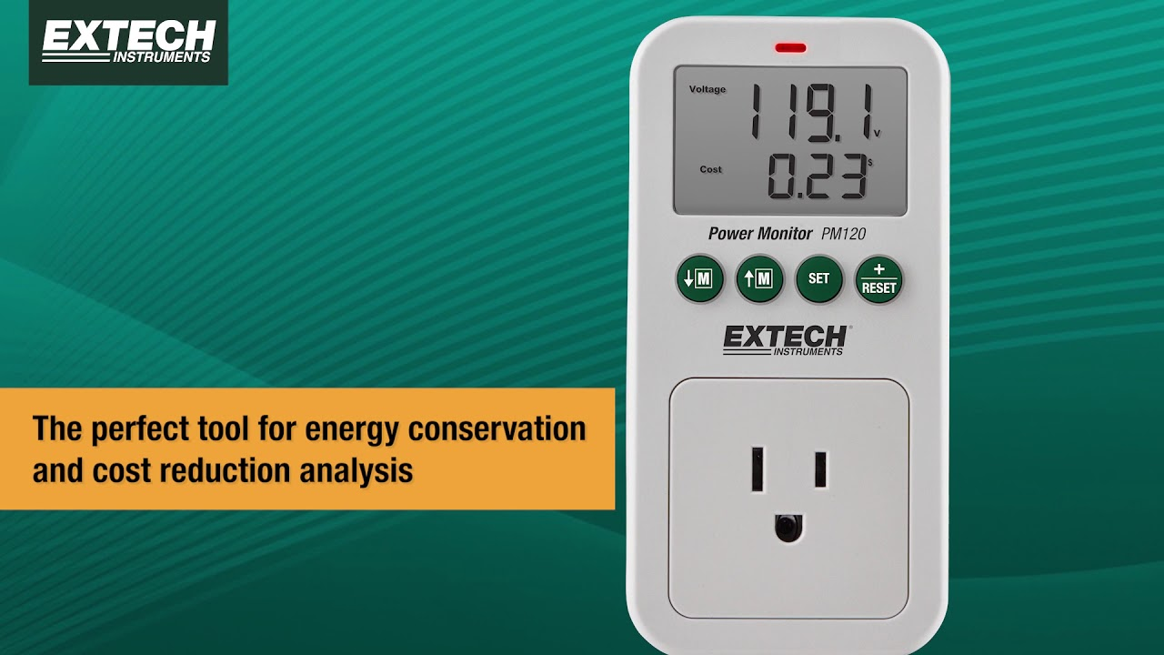extech pm120: power monitor