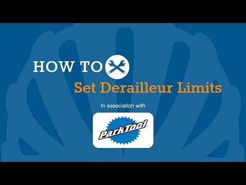 How To Set Derailleur Limits