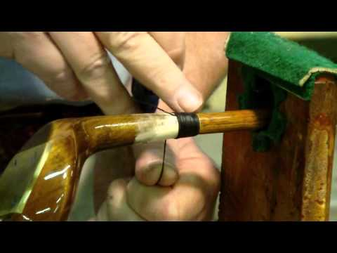 How to whip a Hickory-shafted Persimmon wood.