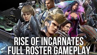 Rise of Incarnates (Free Online Brawler): Full Roster Gameplay