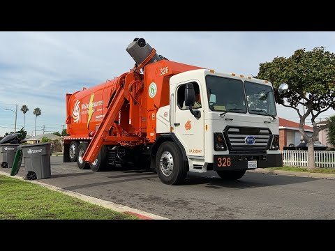 Waste Resources BYD Electric Garbage Truck