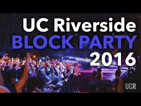 UC Riverside - 2016 Block Party