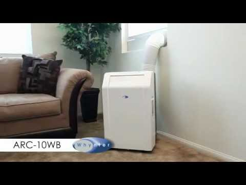 Whynter ARC 10WB Portable Air Conditioner Installation Guide   YouTube