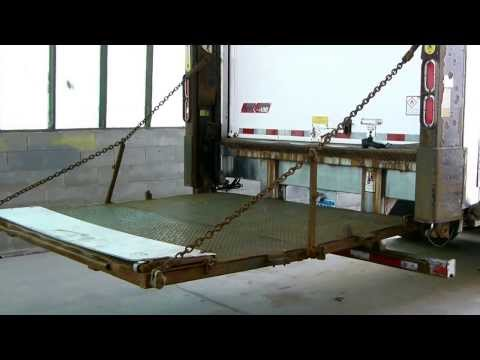 Anthony Mrt 3500 Sf Heavy Duty Hydraulic Liftgate Demo Doovi