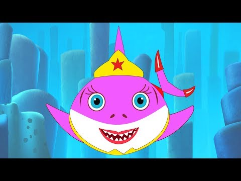 Baby Shark Super Heroes (lego superheroes) Song + Babyshark doo doo songs by Fun For Kids TV