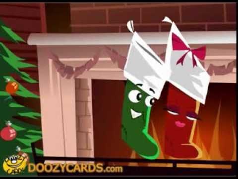 Naughty Christmas Stocking eCard
