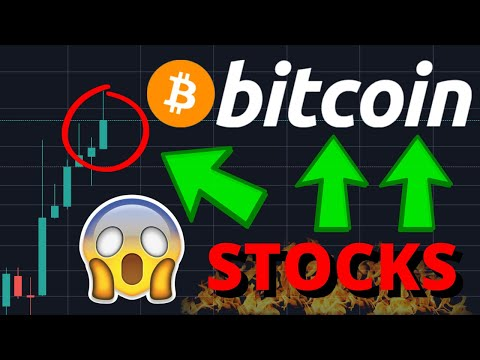 CRAZY!!! BITCOIN BREAKOUT IMMINENT!! INVESTORS ACCUMULATING BITCOIN & SELLING STOCKS!!!