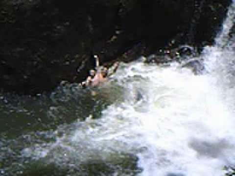 Cachoeira Pedro David em São Francisco Xavier - SP 2007
