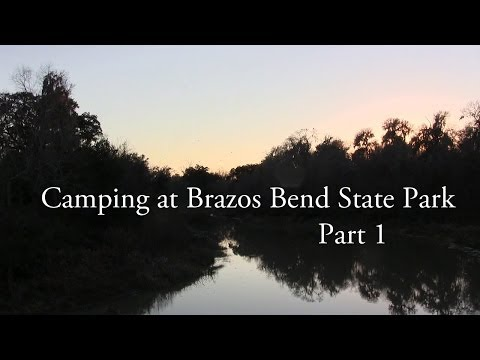 Brazos Bend State Park - Camping Part 1 // Looking for Alligators + George Observatory