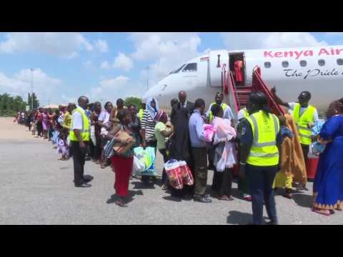 Evacuation of Kenyans in South Sudan