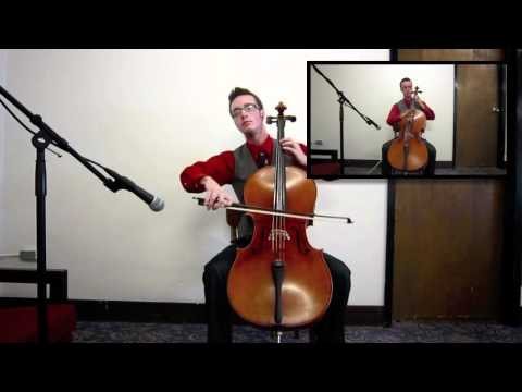 """Lady Gaga's """"Bad Romance"""" - Cello Cover by Liam Murphy"""