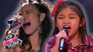 TOP 10 MIND BLOWING Singers From The Philippines On Got Talent, X Factor And Idol!
