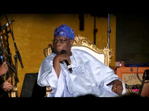 OOF Anniversary Section 4 Interview of H.E. Olusegun Obasanjo by Zeinab Badawi