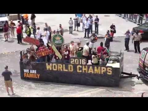 Cleveland Cavaliers Championship Parade 2016 | NBA Finals Champions!