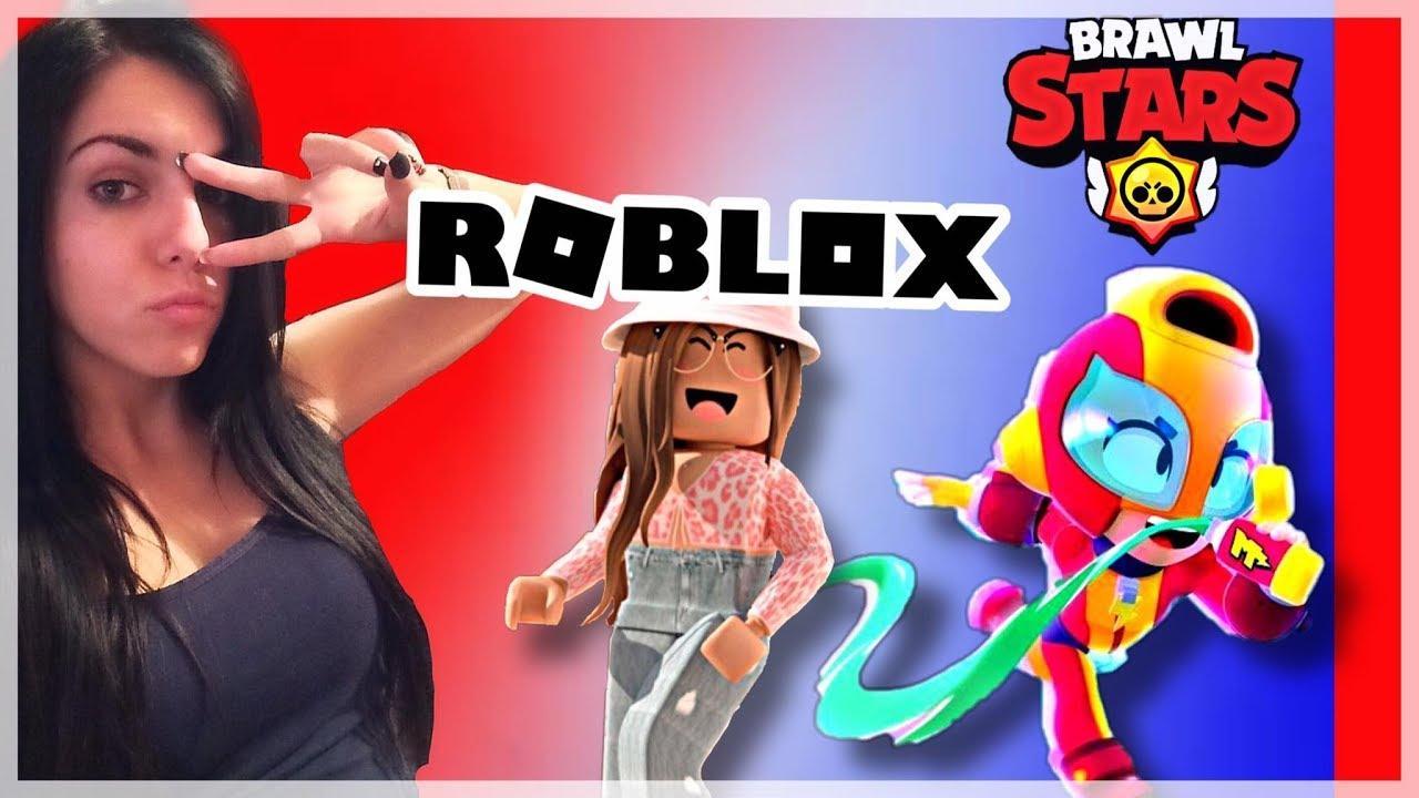 🔴brawl stars i roblox 🔴balkan live🔴  youtube