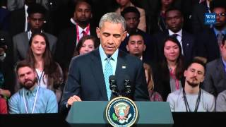 Obamas London Town Hall- Full event