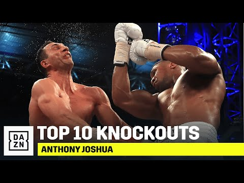 The Top 10 KO's of Anthony Joshua's Career